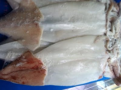 Mực dẻo hải sản vùng biển