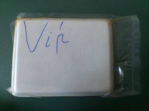 Chả mực có chữ Vip sau hộp sản phẩm